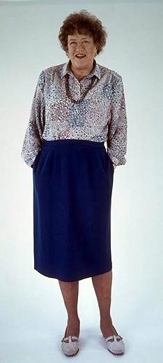 Julia Child: jól kifőzte magának a sikert (fotó: wikipedia)