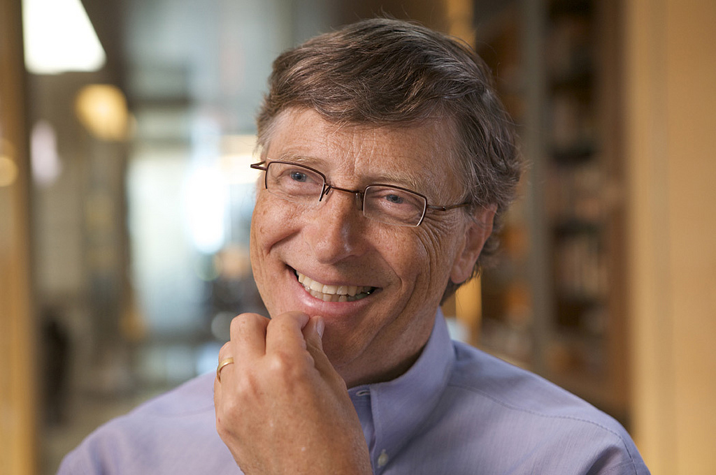 Bill Gates jótékony mosolya