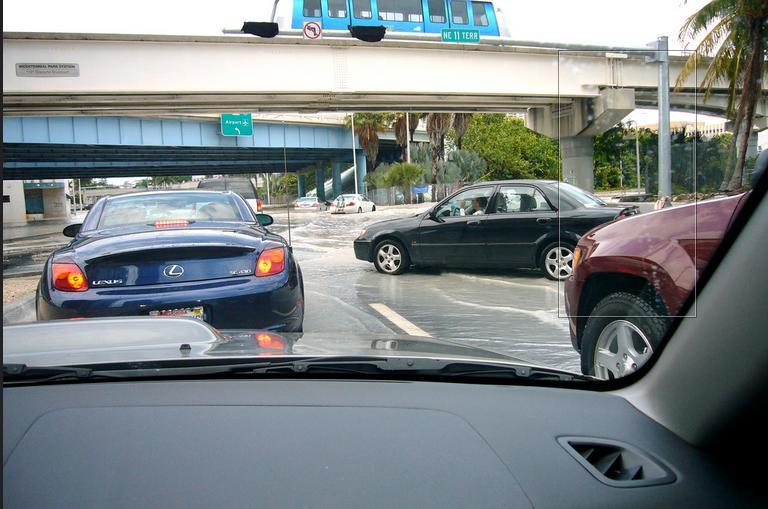 Miamiban közlekedni sem mindig egyszerű (fotók: flickr)