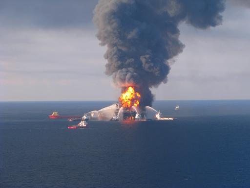 A Deepwater Horizon eredeti képen Forrás: Wikipedia