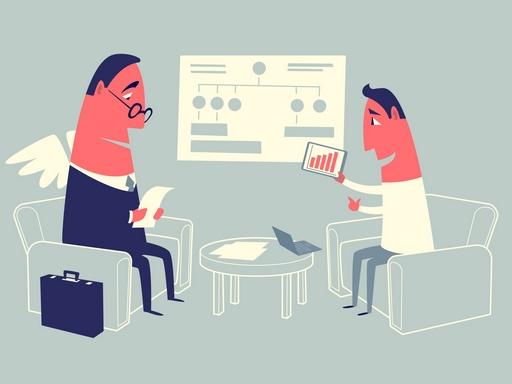 startup angyalbefektetővel szemben