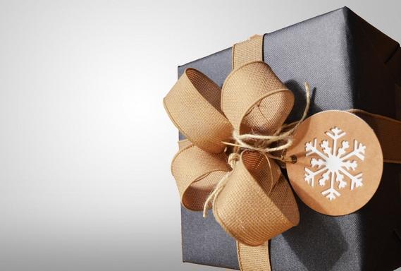 elegáns ajándékcsomag