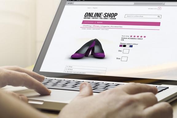 online vásárlás e-kereskedelem webáruház