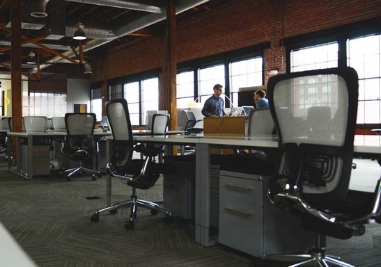 egyterű irodatér