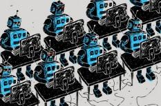 foglalkoztatás, gépesítés, jövő, munka, robot