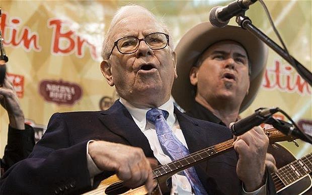 Warren Buffett: nemcsak befektetni tud, muzsikálni is. (fotó: thetaxhaven/flickr)