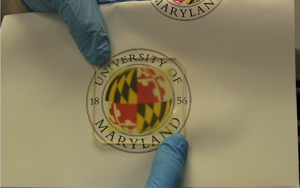 Ennyire átlátszó (fotó: University of Maryland / eng.umd.edu)