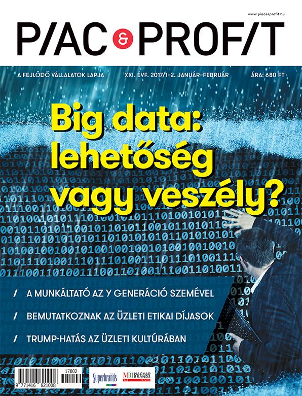 Piac & Profit címlap 2017. 1-2.