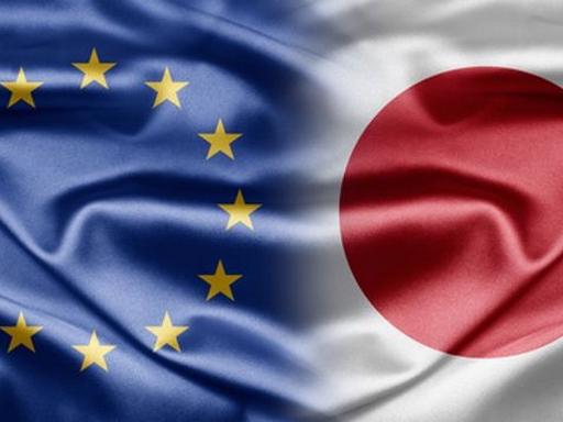 eu-s és japán zászló
