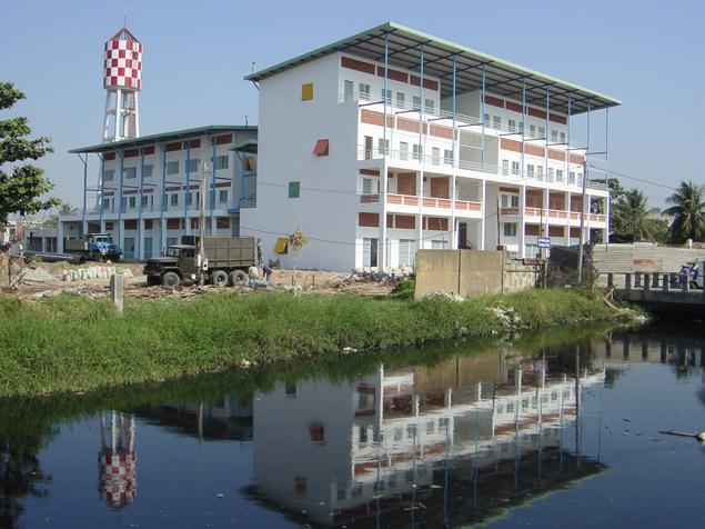 Bioklimatikus lakóház Vietnamban