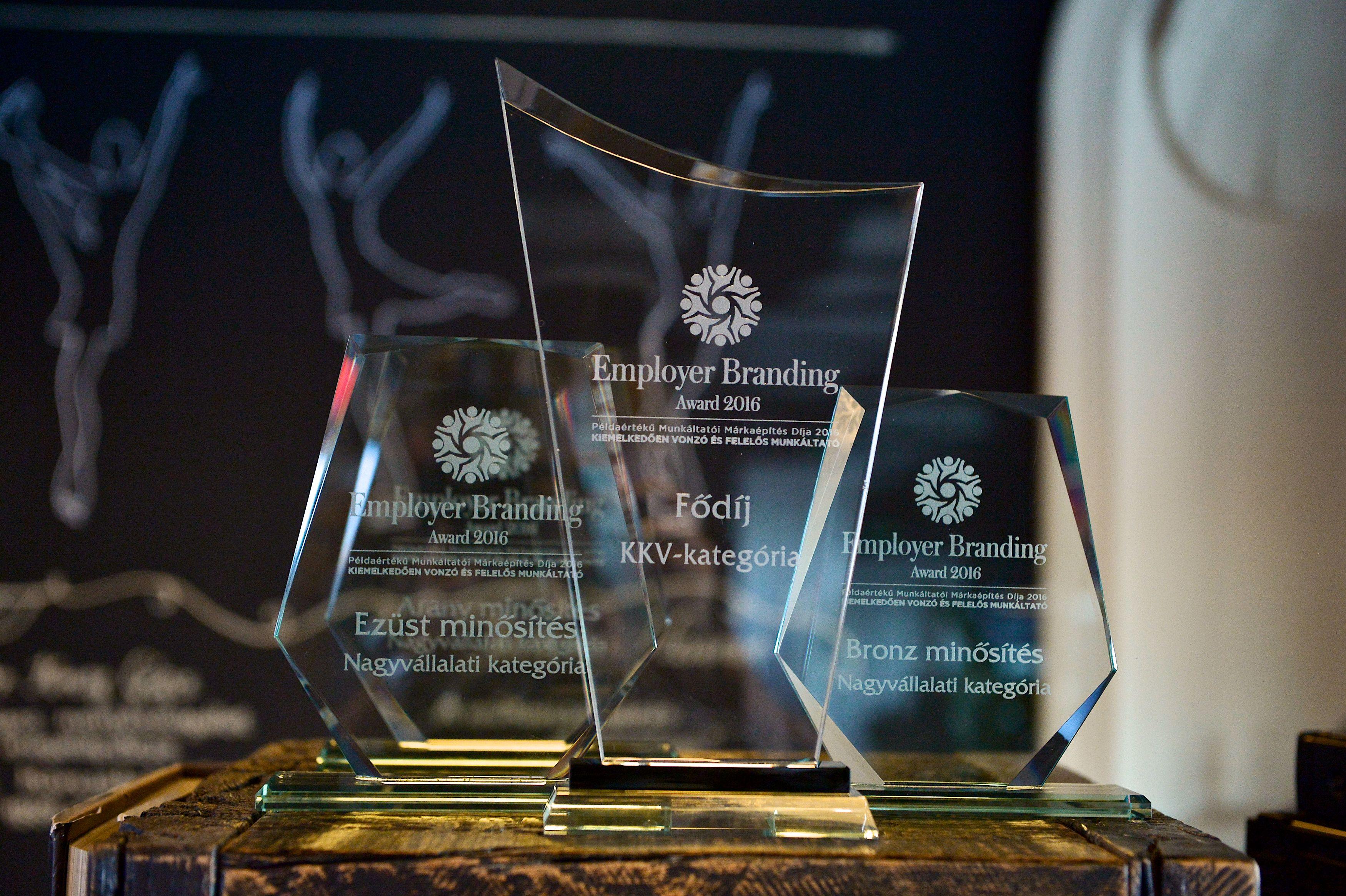 Employer Branding Award 2016 (Forrás: MPRSz)