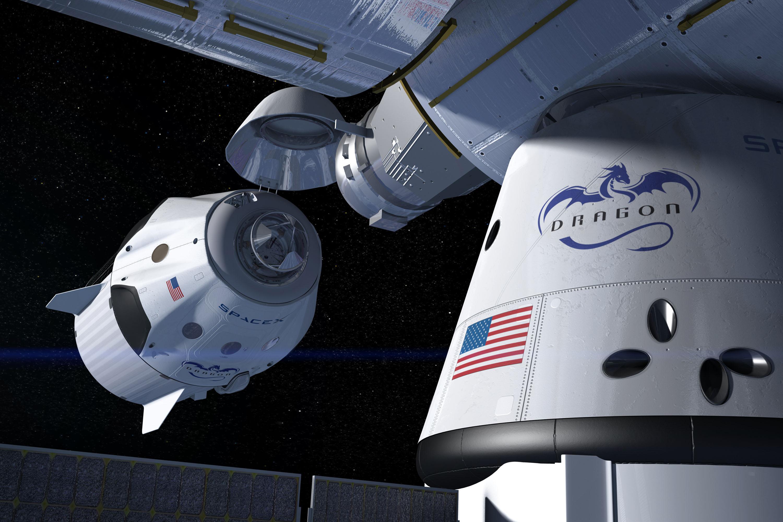 Elon Musk SpaceX-e Kép: Wikimedia