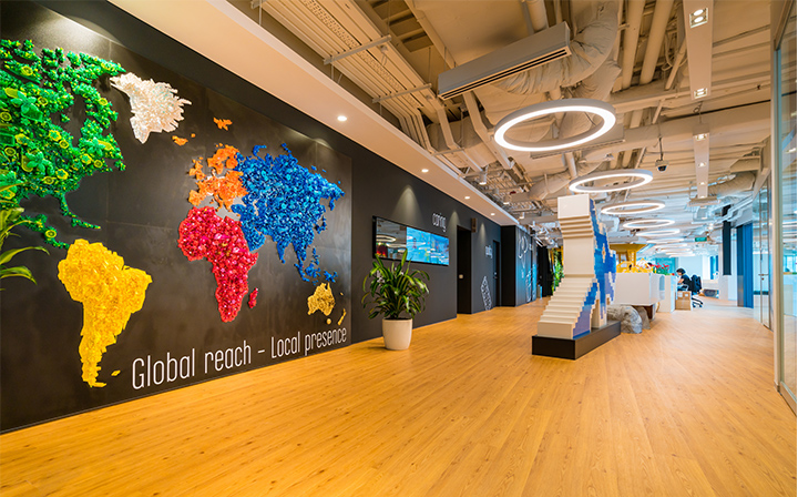 A LEGO szingapúri irodája