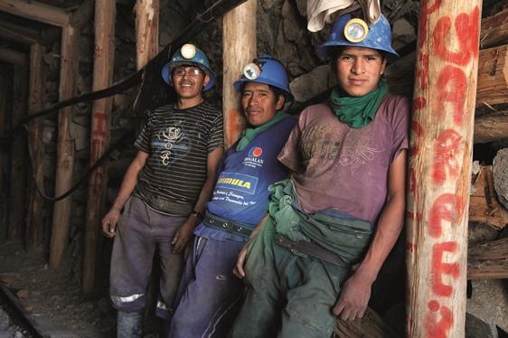 fairtrade aranybánya bányászai