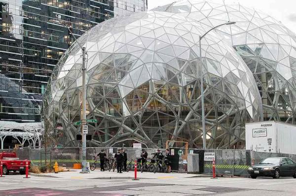 Az Amazon központja Seattle-ben Flickr Mitchell Haindfield Amazon Seattle HQ