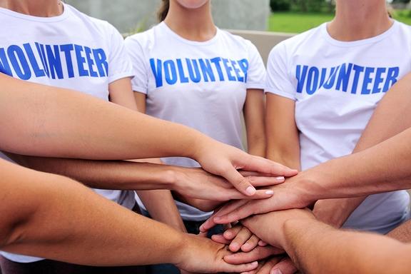 önkéntesek csoportja