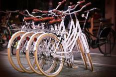 bécs, bicikli, kerékpár, közlekedés, parkolás