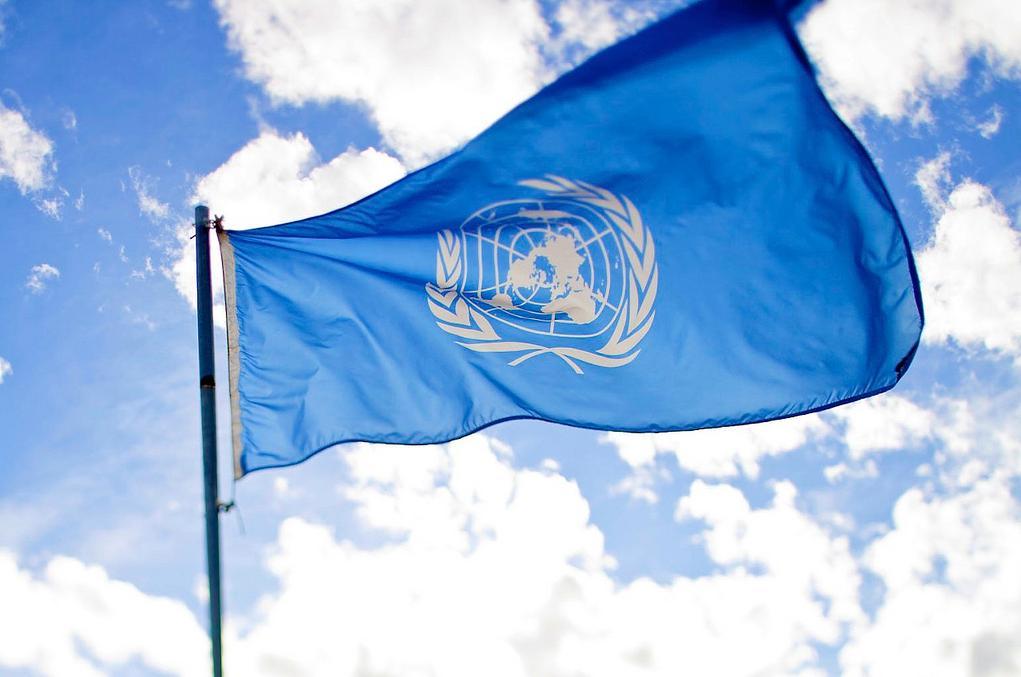 Az ENSZ zászlója (fotó: Flickr/Sanjit Bkashi)
