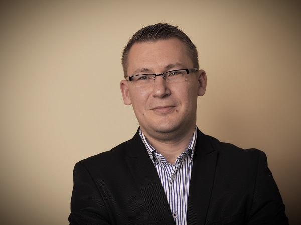 Pertics Richárd az Opten céginformációs igazgatója - Kép: Opten