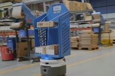 automatizálás, logisztika, robotok