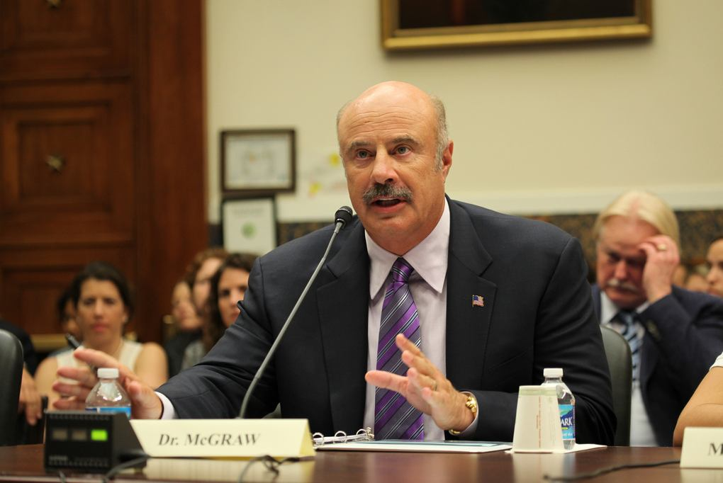 Dr, Phil McGraw (fotó: Flickr/House Committee on Education)