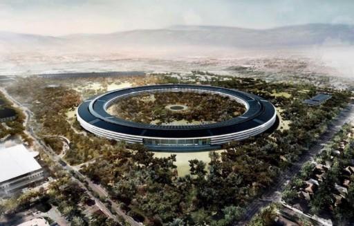 Az Apple új székháza Kép: apple.com