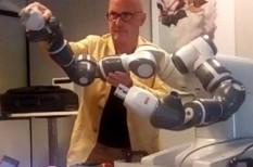 abb, Andrea Bocelli, karmester, koncert, mesterséges intelligencia, robotika, robotok, yumi