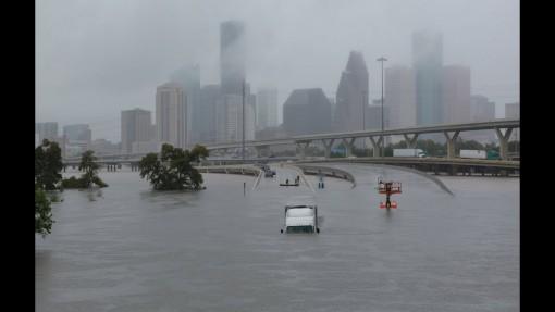 Víz alá került Houston, Kép: youtube