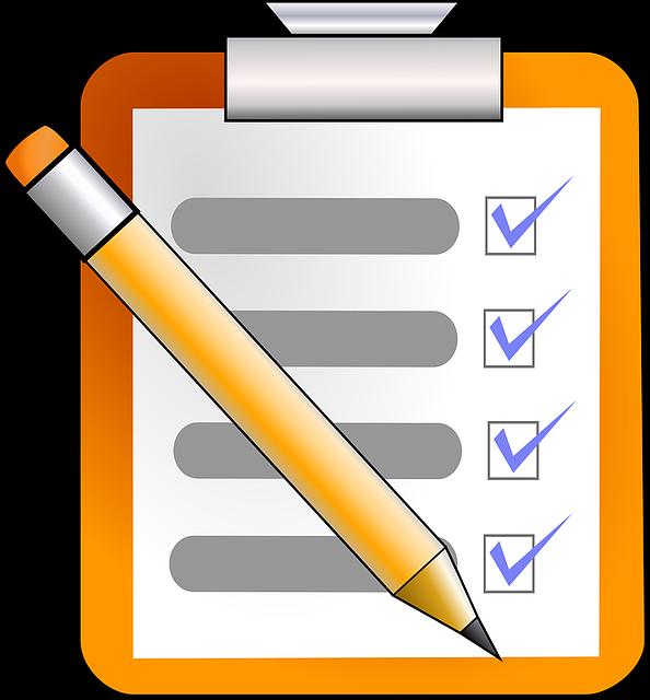 Írjuk fel teendőinket Kép: Pixabay