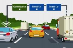 autópálya, biztonság, önvezető autó, sebesség