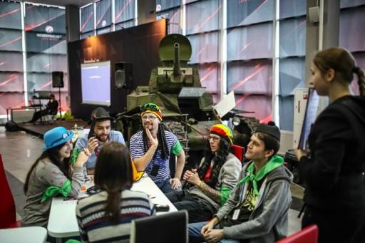 A World of Tanks fejlesztői Kép: New york Times