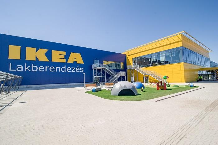A csoport új, soroksári áruháza - Kép: IKEA