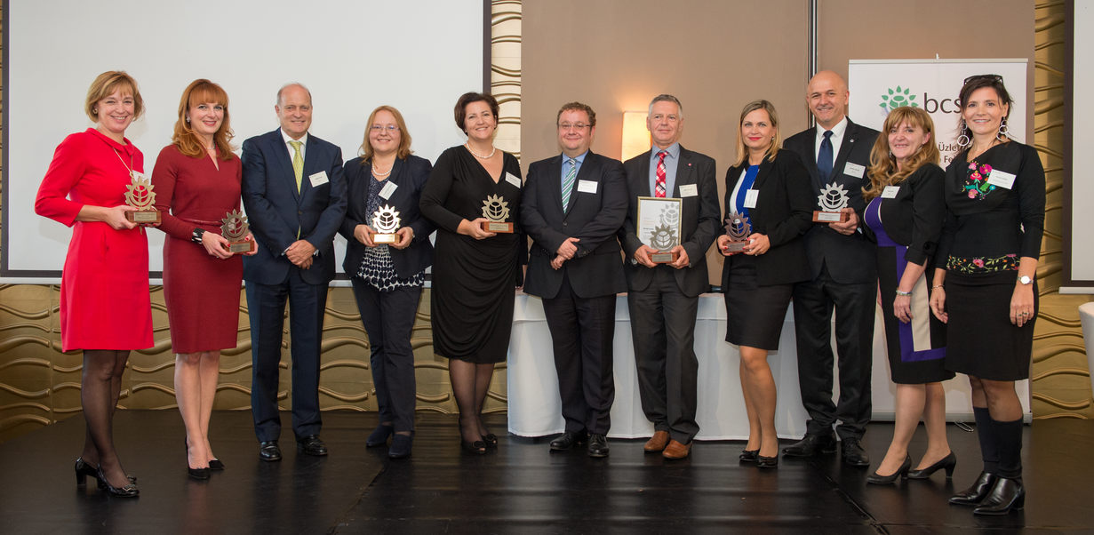 A díjazottak (fotó: BCSDH)