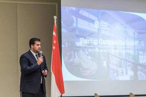 Kovács Zsolt, az Investment Hungary vezetője Szingapúrban