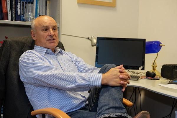 Magas István, a Budapesti Corvinus Egyetem tanára - Kép: PP, Fotó: Erhardt László