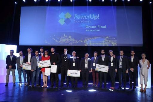 A PowerUp! győztesei Kép: InnoEnergy