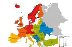 északmagyarország, európai unió, gazdagság, luxemburg, magyarország, svájc, szegénység, vásárlóerő