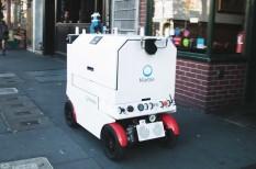 futárok, közlekedés, robotok, san francisco, veszély