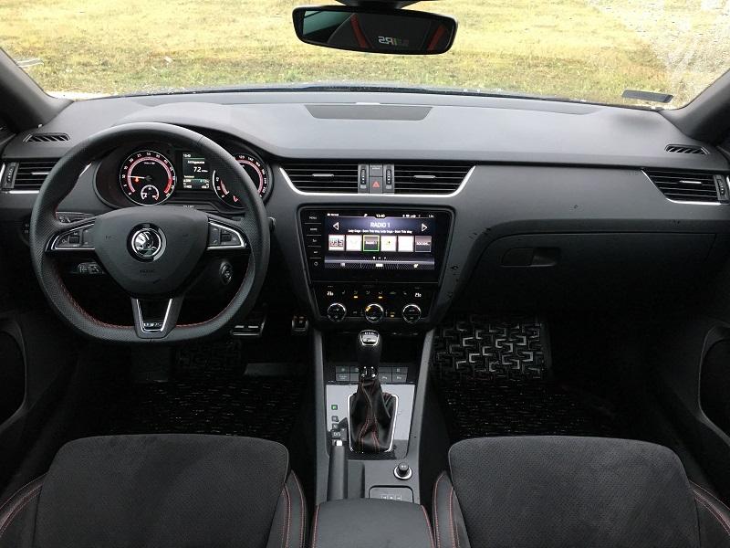 Škoda Octavia Combi RS TDI Kép: PP Archív