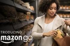 Amazon-go, fizetés, kassza, online, számla, vásárlás