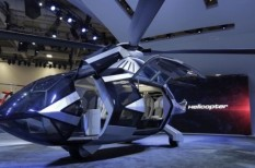 bell helikopter, expo, las vegas, repülő taxi, uber