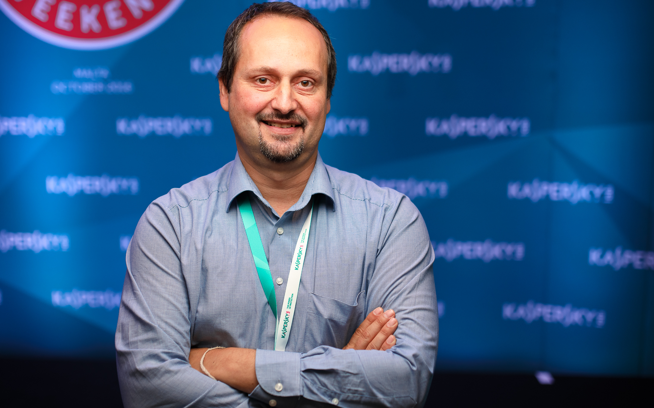 Dragan Martinovic, a Kaspersky Labs regionális vezetője