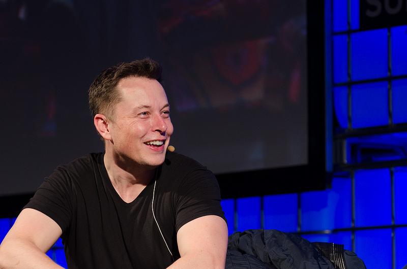 Elon Musk (Flickr/Web Summit)