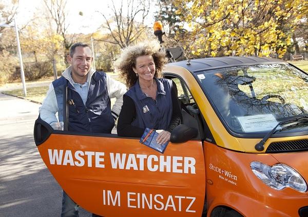 Szemétrendőrök bevetésen - Copyright: WasteWatcher © Felicitas Matern