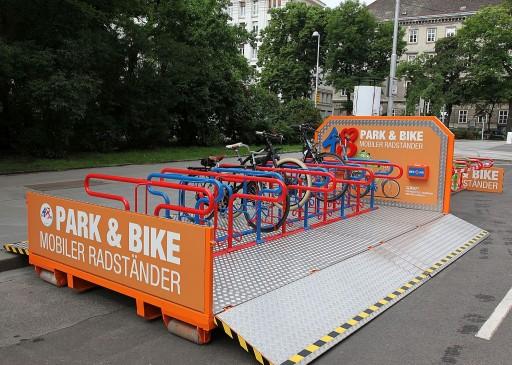 Mobil kerékpártároló Christian Houdek/PID