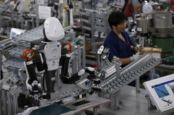 Együtt dolgoznak majd emberek és robotok