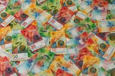 bankjegy, bűnözés, címlet, pénz, svájc