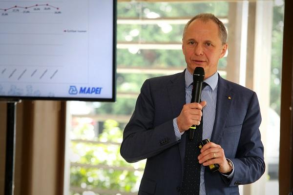 Markovich Béla a Mapei vezérigazgatója