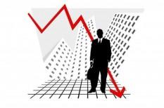csökkenés, fogyasztás, nagyvállalat, negatív trend, profit
