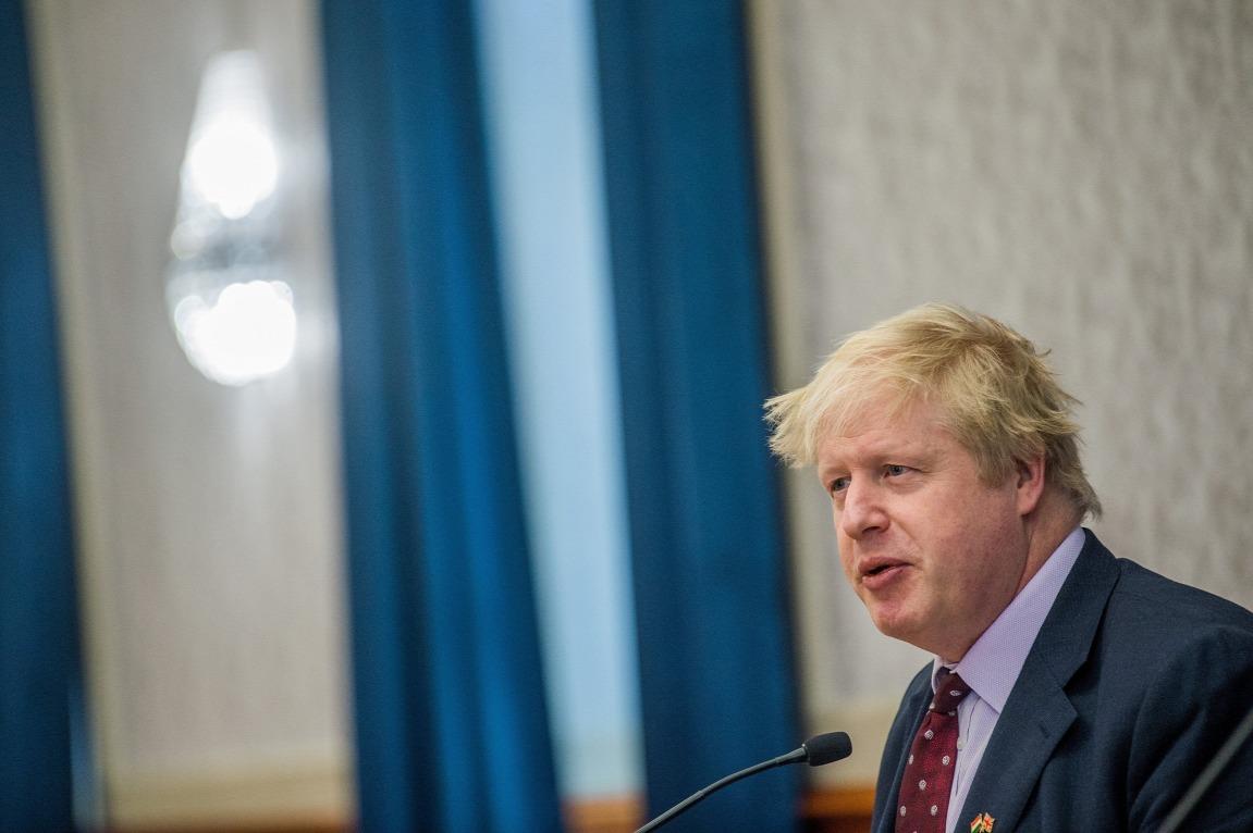 Boris Johnson külügyminiszter: a brexit-kampány egyik arca volt, most mintha finomodna a véleménye az EU-ról FORRÁS: MTI/BALOGH ZOLTÁN